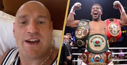 Tyson Fury Says He'll Quit Fight If Anthony Joshua Lasts Longer Than Three Rounds