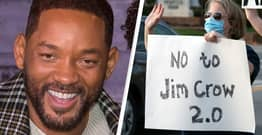 Will Smith Won't Shoot New Movie In Georgia To Protest State's 'Regressive' Voting Restrictions