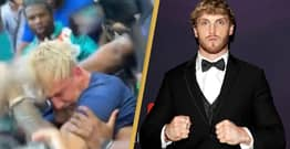 Logan Paul Says Floyd Mayweather Confrontation With Brother Jake Was 'Very Real'