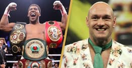 Anthony Joshua And Tyson Fury Announce Date For $200 Million Mega-Fight
