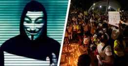 Anonymous Hacks Colombian Government After Police Brutally Crackdown On Protesters