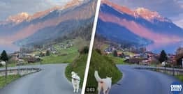 Chinese State Media Tries To Promote China Using Video Of Swiss Alps