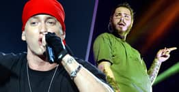 Eminem And Post Malone Collaboration Teased In Cryptic Post By Godzilla Director