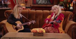 Lady Gaga And Lisa Kudrow Perform 'Smelly Cat' On Friends Reunion