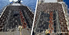 US Navy Seizes Thousands Of Assault Weapons And Sniper Rifles From Sailing Boat