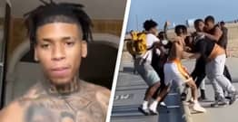 Rapper NLE Choppa Defends Himself After Video Of Him Fighting Fan At Beach Hits Social Media
