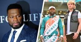 50 Cent Trolls Floyd Mayweather Over Jake Paul Fight