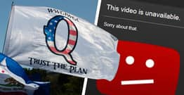 QAnon Conspiracy Channels Delete Their Own YouTube Videos To Avoid Punishment