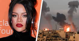 Rihanna Faces Backlash For Comments On Israel And Palestine