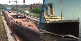 Full-Scale $155 Million Titanic Replica Is Being Built In China