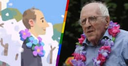 Google Doodle Celebrates Pride Month With Gay Rights Activist Frank Kameny
