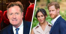 Piers Morgan Whines That We've Heard Too Much Of Harry And Meghan's 'Whining'