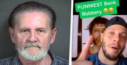 70-Year-Old Man's Cunning Plan Called 'Funniest Bank Robbery Ever'