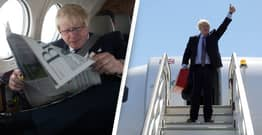 Boris Johnson Slammed For Flying Private Jet To Cornwall To Discuss Climate Crisis