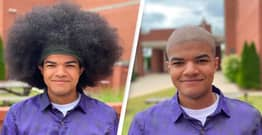 Alabama 17-Year-Old Heading To Air Force Donates Hair To Kids Battling Cancer