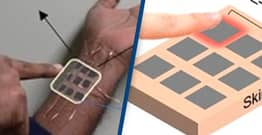 New e-Tattoo Can Produce Electricity Through Touch