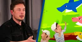 Elon Musk's Baby Shark Tweet Increased Investment Shares By 10%