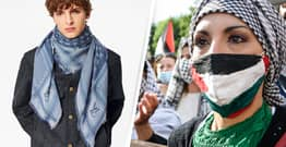 Louis Vuitton Accused Of Cultural Appropriation For $700 Palestinian Scarf