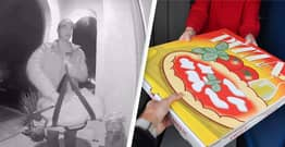 Woman Mortified After Bizarre Pizza Delivery Blunder