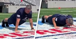 Wisconsin Dad Breaks World Record After Completing 1.5 Million Push Ups For Charity