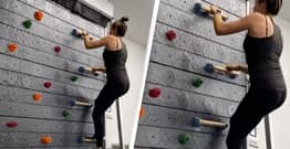 Treadmill Climbing Walls Are Now A Thing And They Are Terrifying