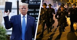 Trump Didn't Conspire To Shift BLM Protesters For Church Photoshoot, Judge Says