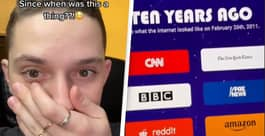 'Time Capsule' Website Shows You What Was Happening Online Years Ago