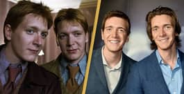 Weasley Twins James And Oliver Phelps Take Us Behind The Scenes Of The New Harry Potter Exhibit