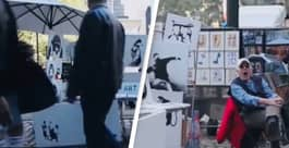 Banksy Once Sold Original Artwork For $60 And People Just Walked Past