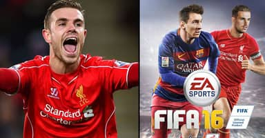 Internet Reacts To Jordan Henderson Being On The Cover Of FIFA 16
