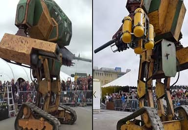 America Challenged Japan To A Giant-Robot Fight – Japan Has Accepted