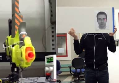 These Robotics Students Made A Turret Nerf Gun, And It's Bad Ass!