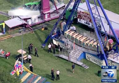Man Commits Suicide At Fairground By Jumping In Front Of Swinging Pirate Ship