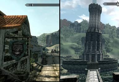 Fans Have Created Oblivion In Skyrim's Engine And It Looks Superb