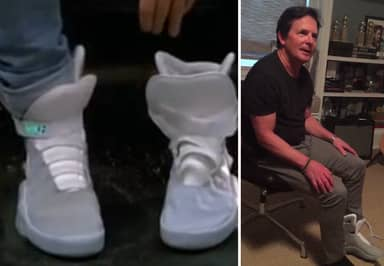 Nike Have Actually Produced The Self-Lacing Sneakers From Back To The Future