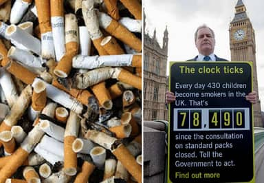 UK Government Plans Dramatic Price Rise In Tobacco