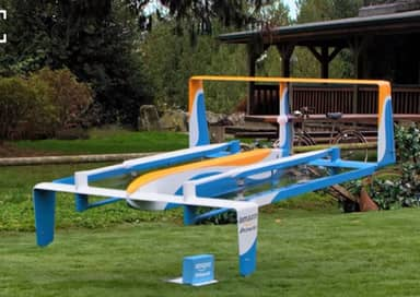 Amazon Demonstrate New Delivery Drones, But We're Not Sure