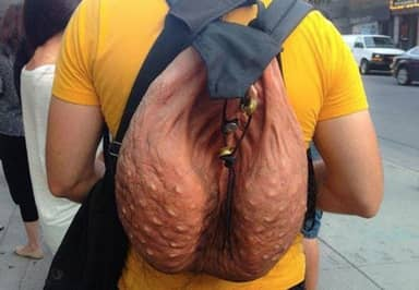 That Ball Sack Scrotum Backpack Is Officially Going On Sale