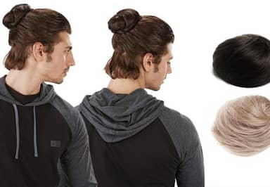 You Can Now Buy Clip-On Man Buns For The Ultimate Hipster Douchebag Look