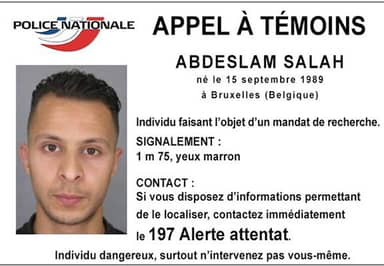 Police Confirm They've Launched A Manhunt For Possible ISIS Paris Attacks Suspect