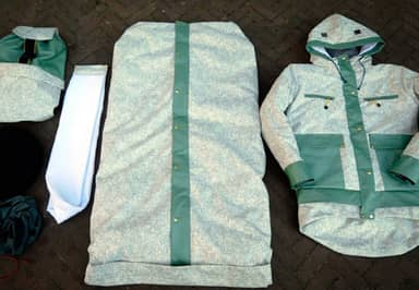 Refugees Are Making Sheltersuits For Homeless People To Keep Warm