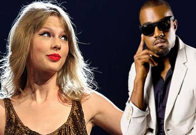 Taylor Swift Hit Back At Kanye West During Last Night's Grammys