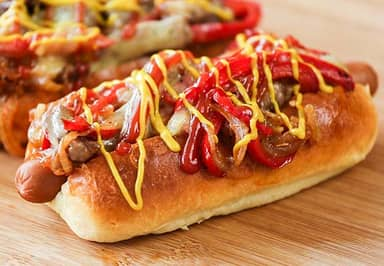 Here's How You Make Philly Cheese Steak Dogs