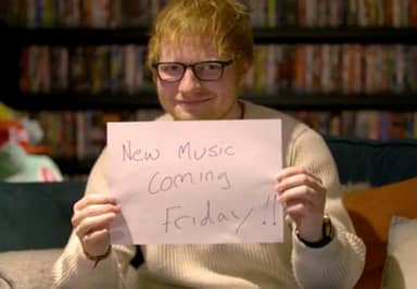 Ed Sheeran Just Revealed He Will Release New Music This Week