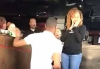 Cheating Woman Gets Nasty Surprise When Boyfriend Proposes To Her