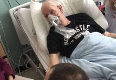 NHS Grants Grandad's Dying Wish To See His Dog One Final Time