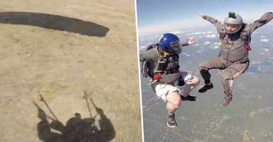 Guy Shatters His Pelvis After Skydive Goes Horribly Wrong