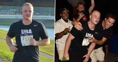 Guy Completes Entire Marathon Without Training As Punishment For Losing Fantasy Football