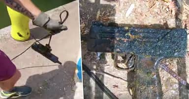 Man Reels In Sub-Machine Gun While Magnet Fishing And Says It's 'His Best Find'