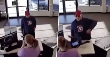 Guy Tries To Rob Vape Store, Massively Fails